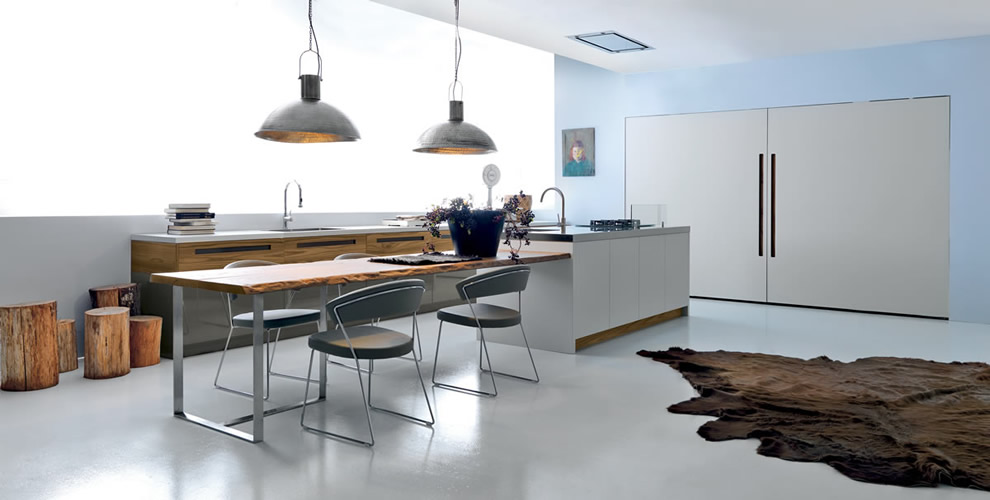 Novalinea modern kitchen by ASSO Cucine, modern kitchens from ...